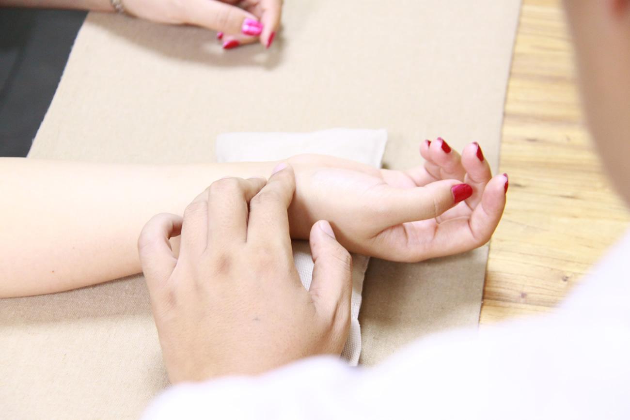 Chinesische Pulsdiagnose